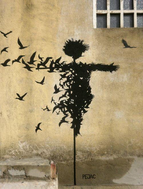 Grafiti de Pejac