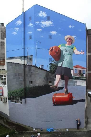 Grafiti de Joseba Muruzubal