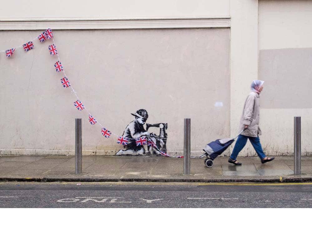 Banksy slave labo