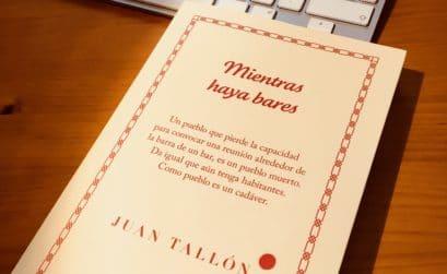 Portada de Mientras haya bares, de Juan Tallón
