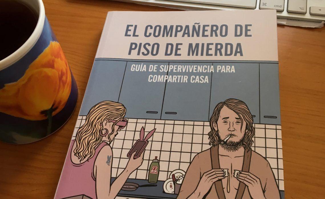 Portada libro Compañero de Piso de mierda