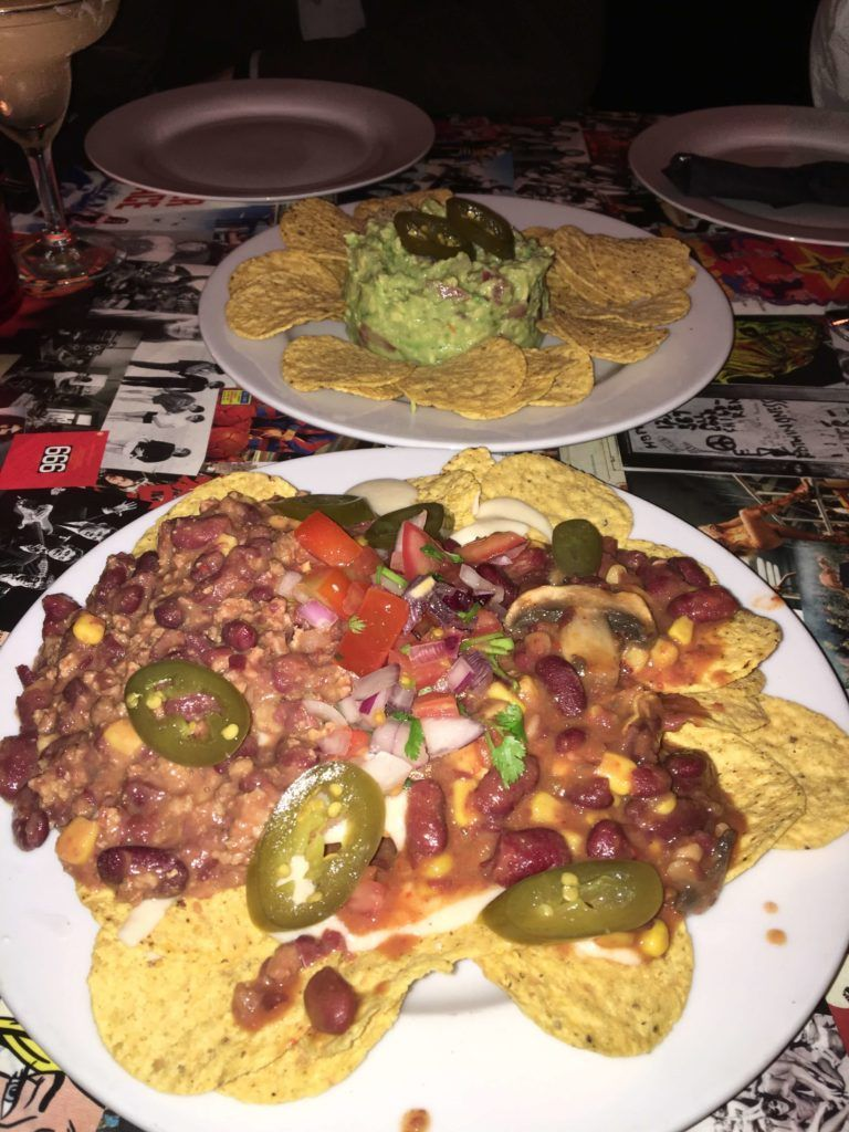 Ummagumma nachos Coruña