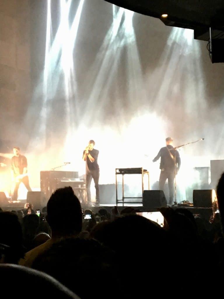 Editors Coruña concierto Pelicano