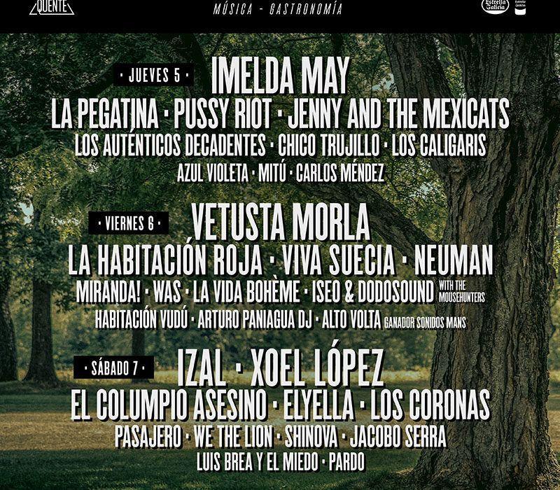 PortAmérica festival Caldas Vetusta