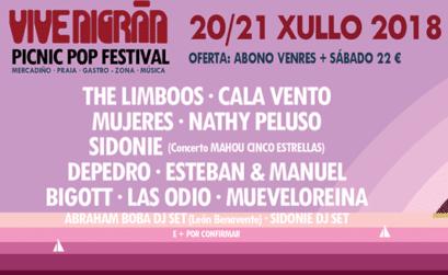 Festival Vive Nigrán Galicia