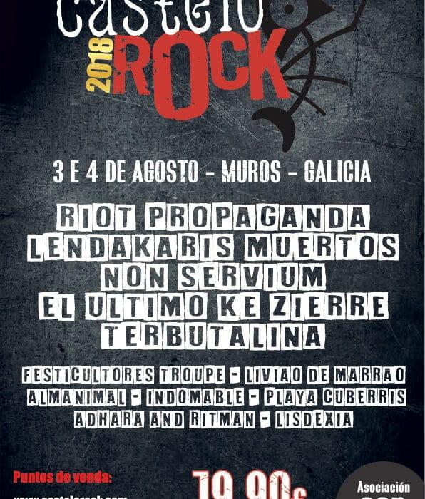 Castelo Rock Muros 2018