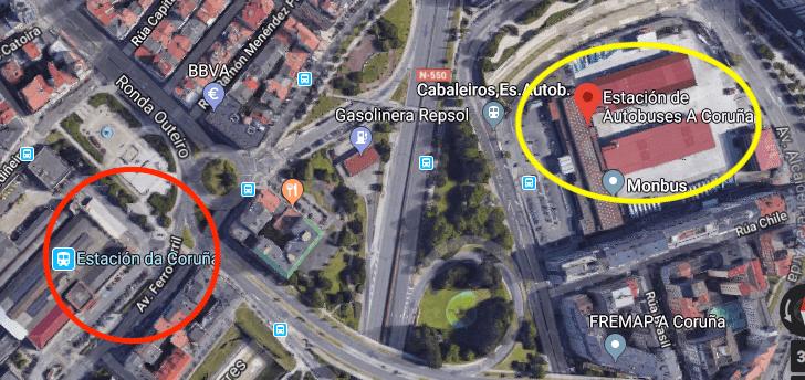 Noroeste Pop Rock 2018 estaciones Coruña