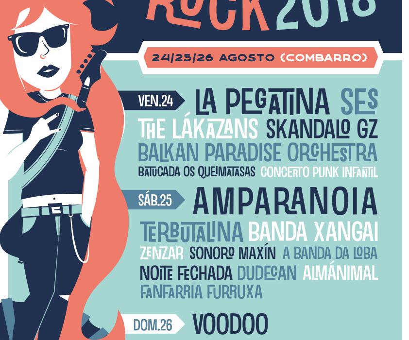 Armadiña Rock 2018 Combarro