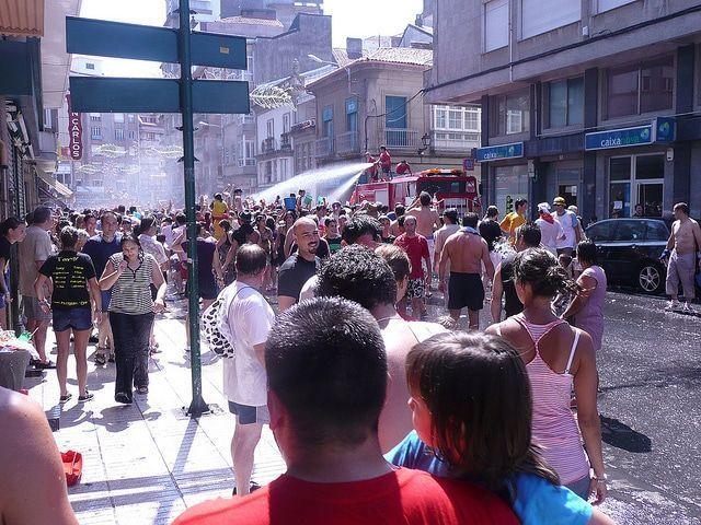 Fiesta del agua Vilagarcía de Arousa