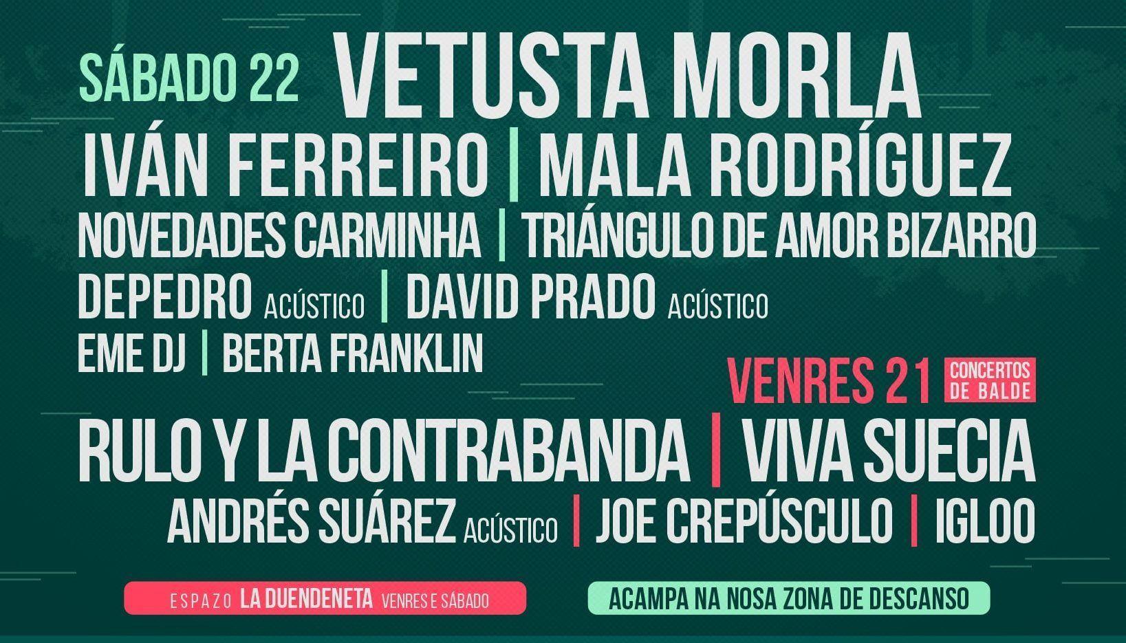 Caudal Fest 2018 Lugo