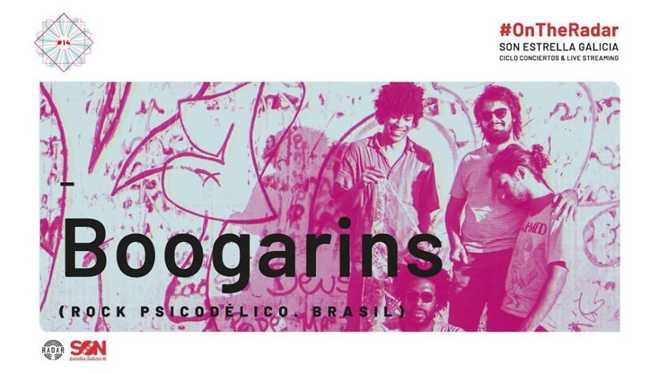 Agenda del finde Vigo Boogarins