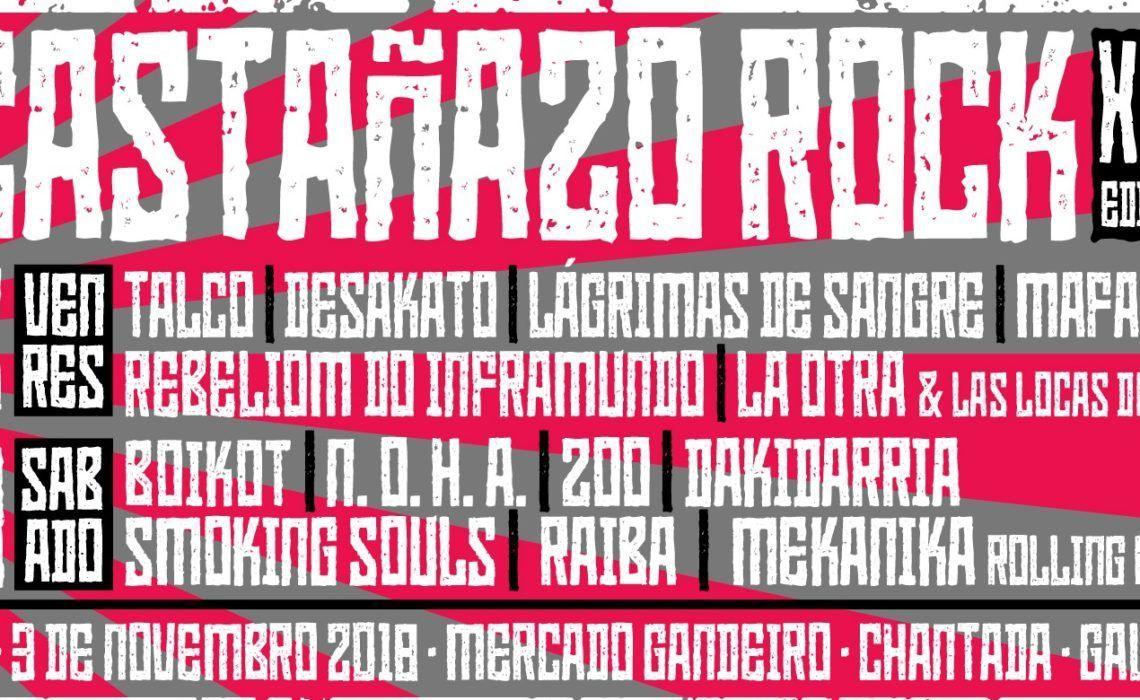 Castañazo Rock 2018 Chantada
