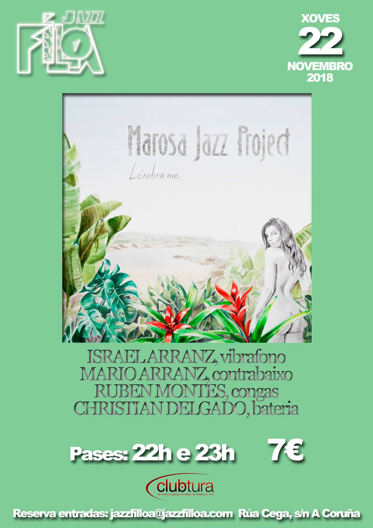 agenda del finde jazz coruña