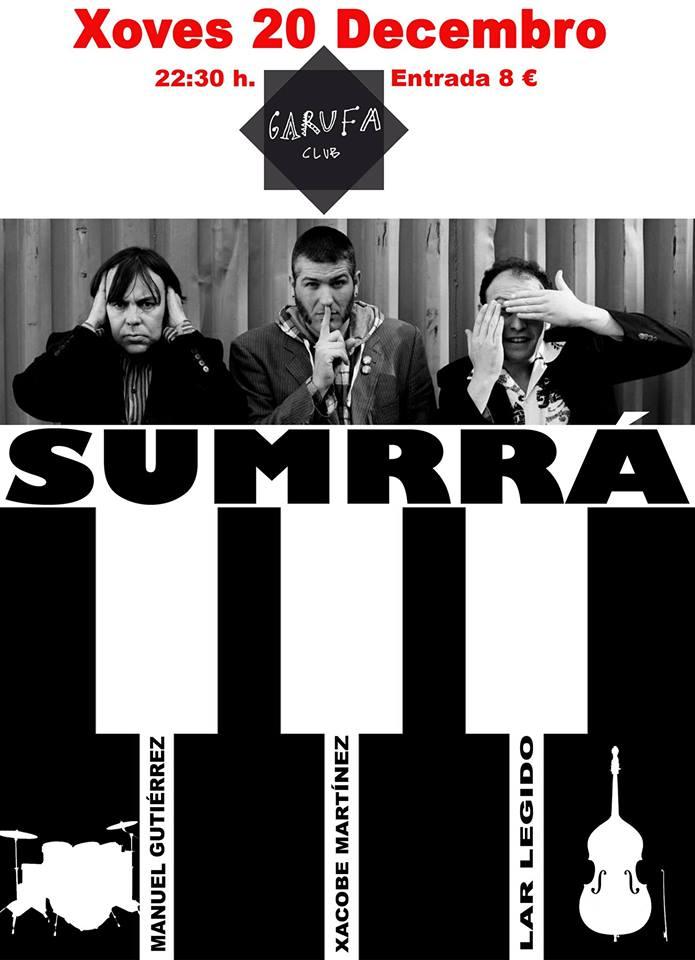 agenda de conciertos de Coruña Garufa
