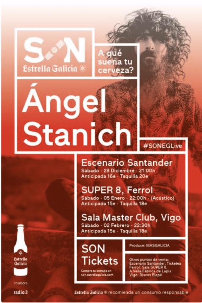 conciertos estas navidades en Galicia