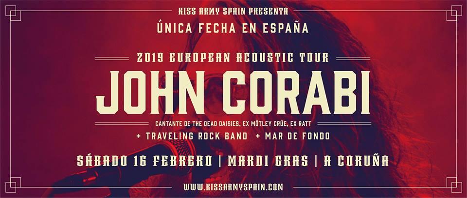 conciertos de febrero en Coruña