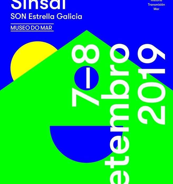 Logo del festival Sinsal Museo do Mar 2019