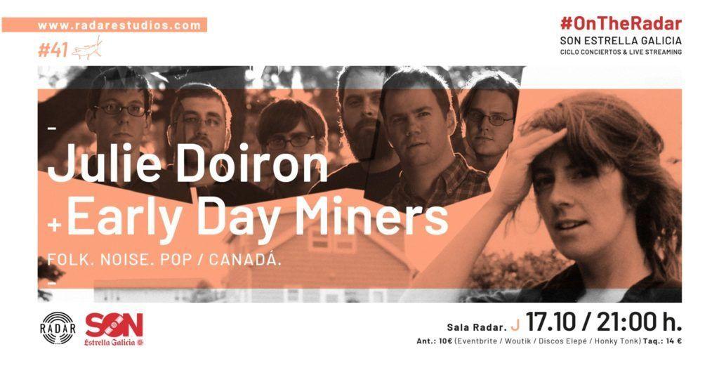 Cartel de Julie Doiron en la agenda de Vigo en octubre