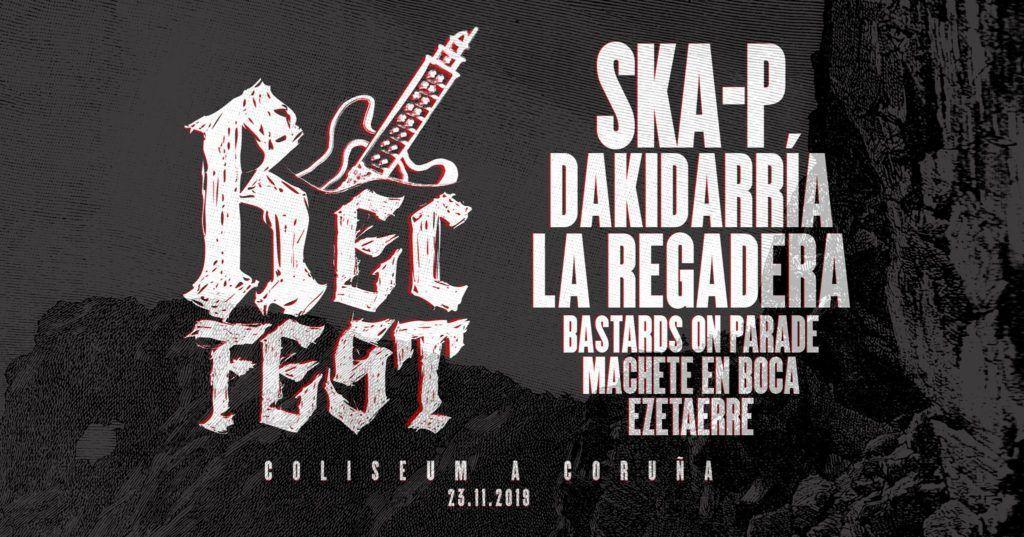 Cartel del Rec Fest en la agenda de Coruña en noviembre 2019