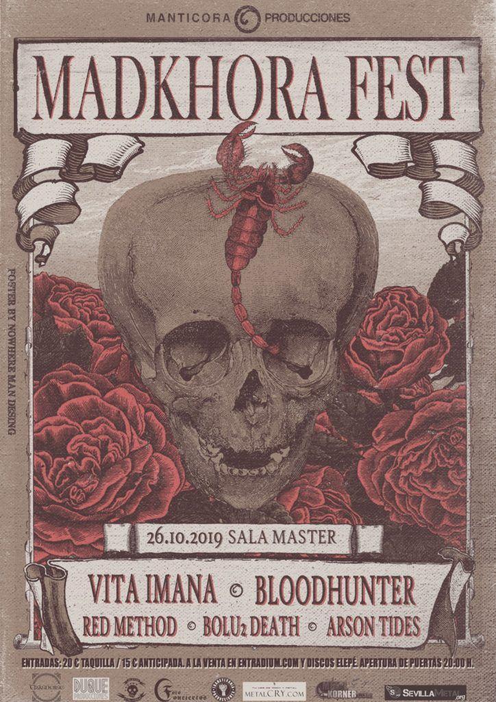 Cartel Madkhora Fest  agenda de Vigo en octubre 2019