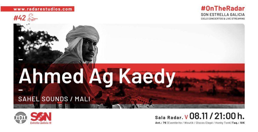 Cartel Ahmed Ag Kaedy en la agenda de Vigo en noviembre