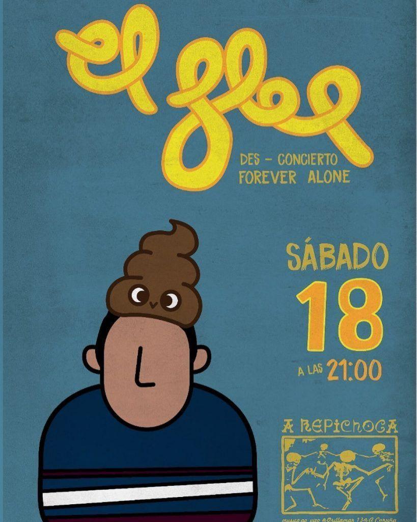 Cartel del concierto de El Flop el sábado 18 en la Repichoca.
