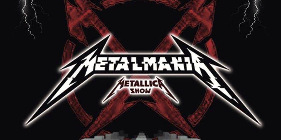 Logo de Metalmania, show tributo a Metallica.