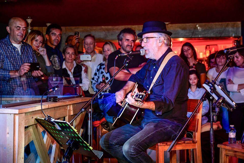 El gran Pancho Varona en concierto en la Jager Lounge en octubre del 2019.