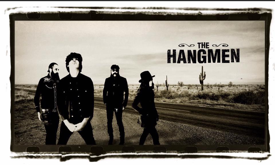 Foto de The Hangmen. Actuan en la Forum Celticum el martes 24 de marzo. Agenda de Coruña en marzo 2020.