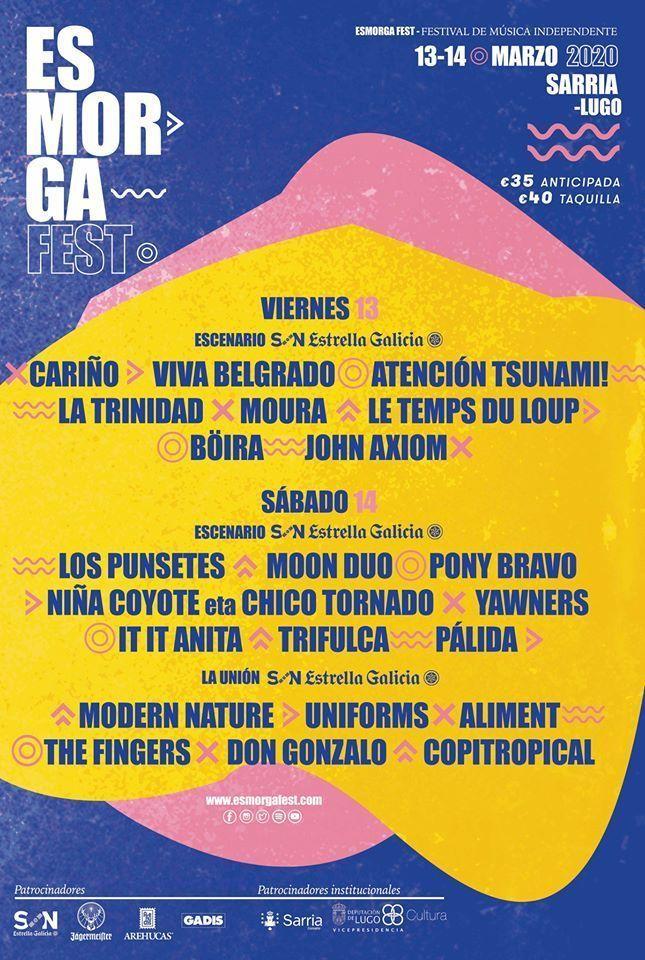 Cartel del Esmorga Fest 2020.