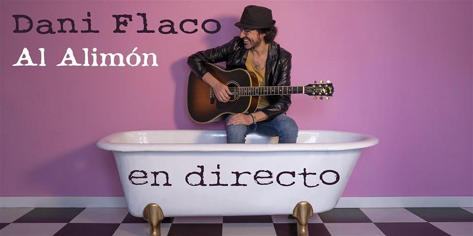 Cartel del concierto de Dani Flaco en la Sala Sonar el viernes 6. Agenda de Santiago en marzo 2020.