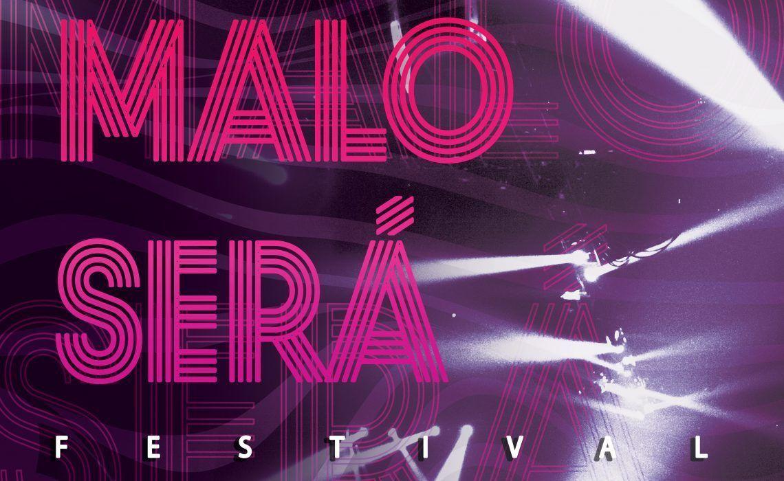 Cartel del Maloserá Fest, que el festival en Instagram de músicos gallegos.