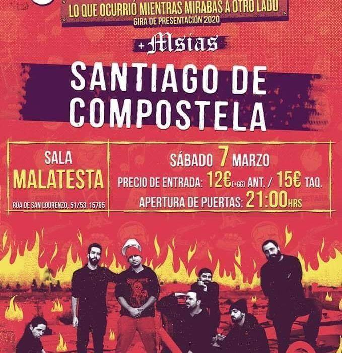 Sons Of Aguirre en la agenda de Santiago en marzo 2020