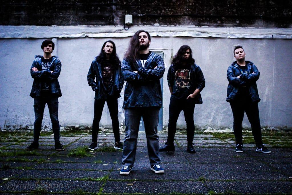 La banda de Death Metal Crystal Somnia.