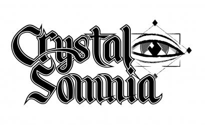 Logo de la banda metalera Crystal Somnia.