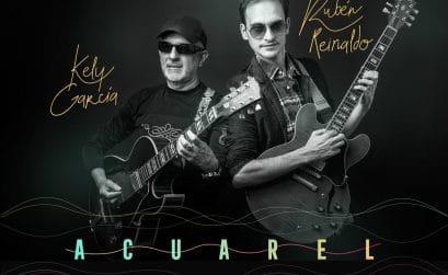 Portada del álbum Acuarel, de los músicos gallegos Rubén Reinaldo y Kely García.