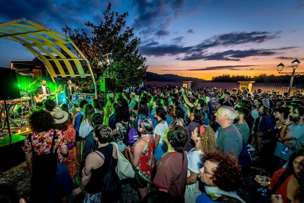 Foto correspondiente a la edición del 2019. Extraída del perfil de Facebook del 17º Ribeira Sacra Festival.