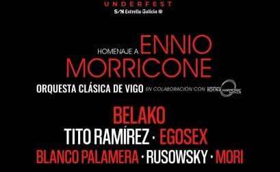 Cartel del Festival Underfest de Vigo
