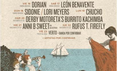 Cartel del Atlantic Fest 2021 que se celebrará como siempre en Vilagarcía de Arousa