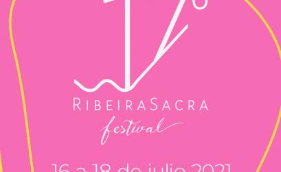 Cartel oficial del 17º Festival Ribeira Sacra 2021