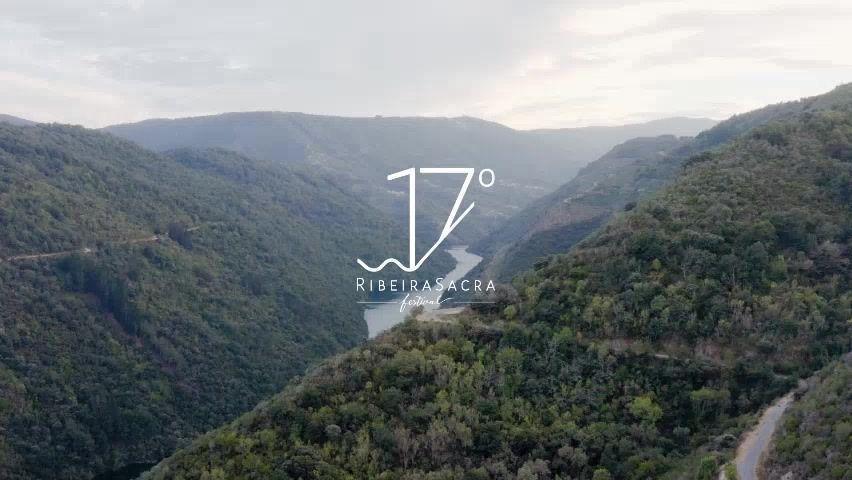 Foto del paisaje de la Ribeira Sacra obtenida del perfil de Facebook del 17º Festival Ribeira Sacra.