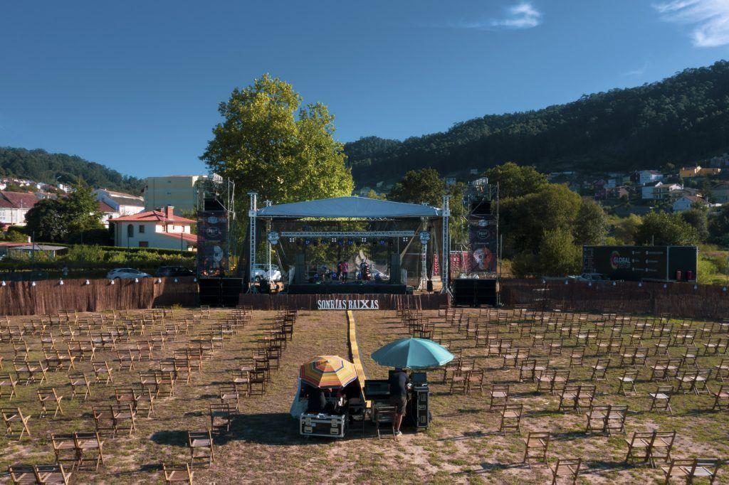 Foto del escenario del SonRías 2021
