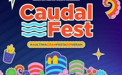 Logo oficial del Caudal Fest 2021