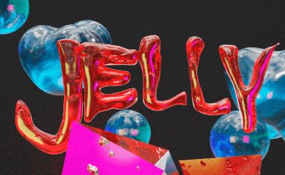 Logo oficial de Jelly, el evento musical exclusivo en la Ribeira Sacra.