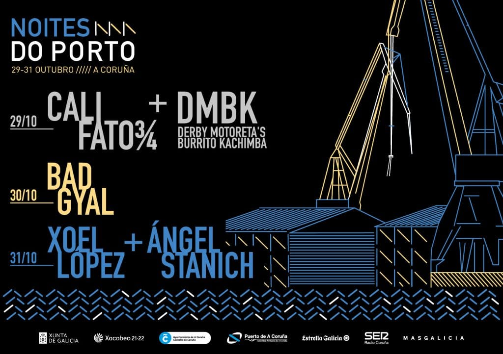 Cartel oficial del Noites do Porto 2021